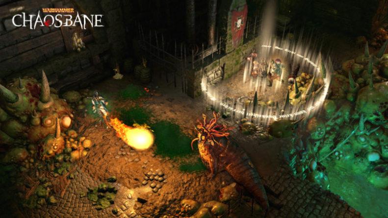 Elontir the Mage Warhammer Chaosbane Screenshot 3