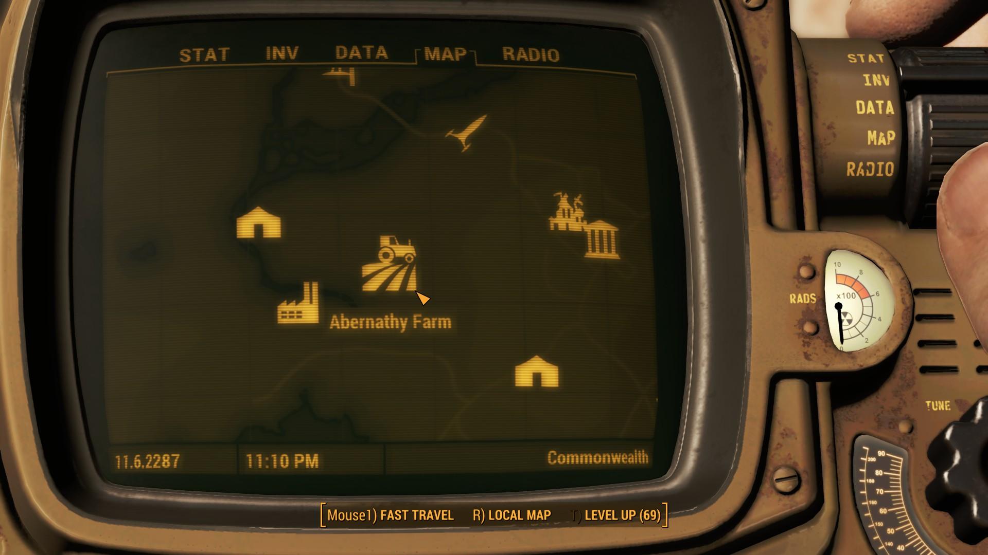 Fallout 4 Abernathy Farm Map Location