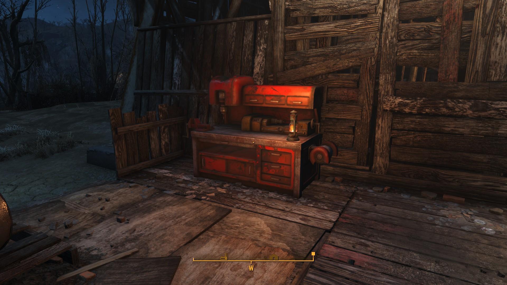 Fallout 4 Abernathy Farm Workbench