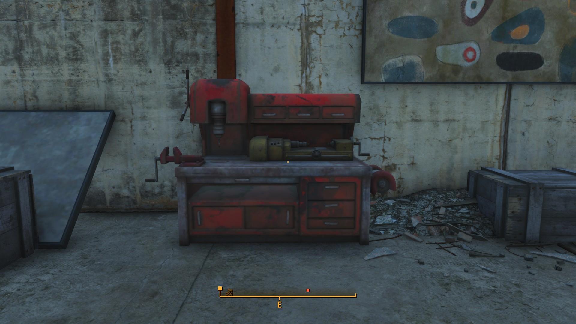 Fallout 4 Boston Airport Workbench