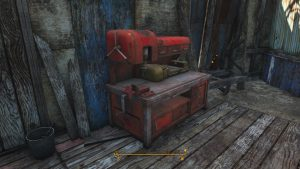 Fallout 4 Bunker Hill Workbench