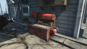 Fallout 4 Croup Manor Workbench