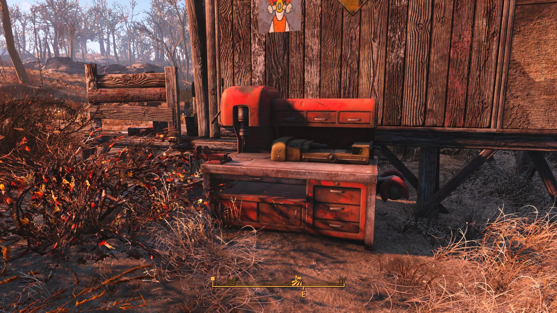 Fallout 4 Finch Farm Workbench