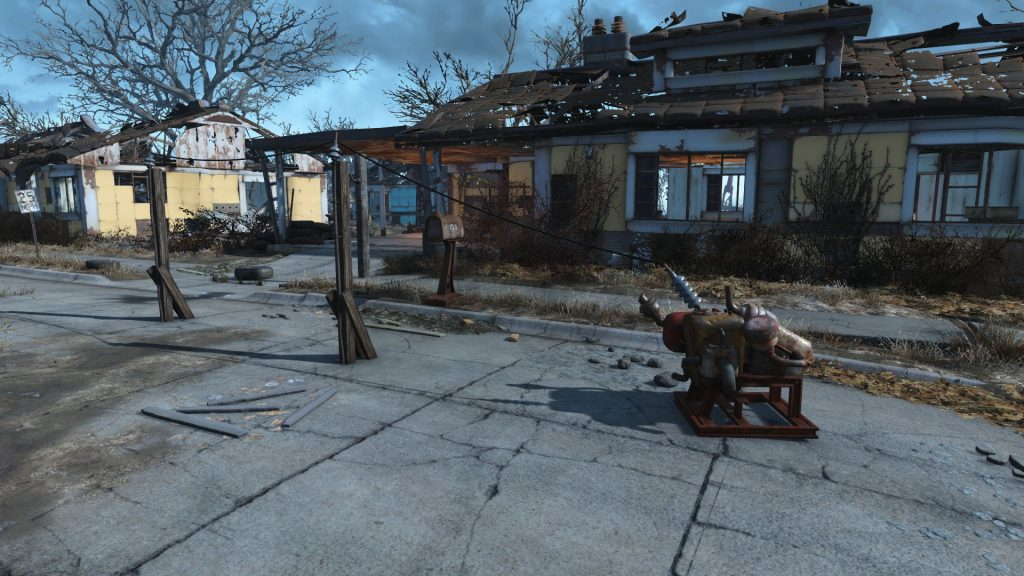 Fallout 4 Generator with PYLONS
