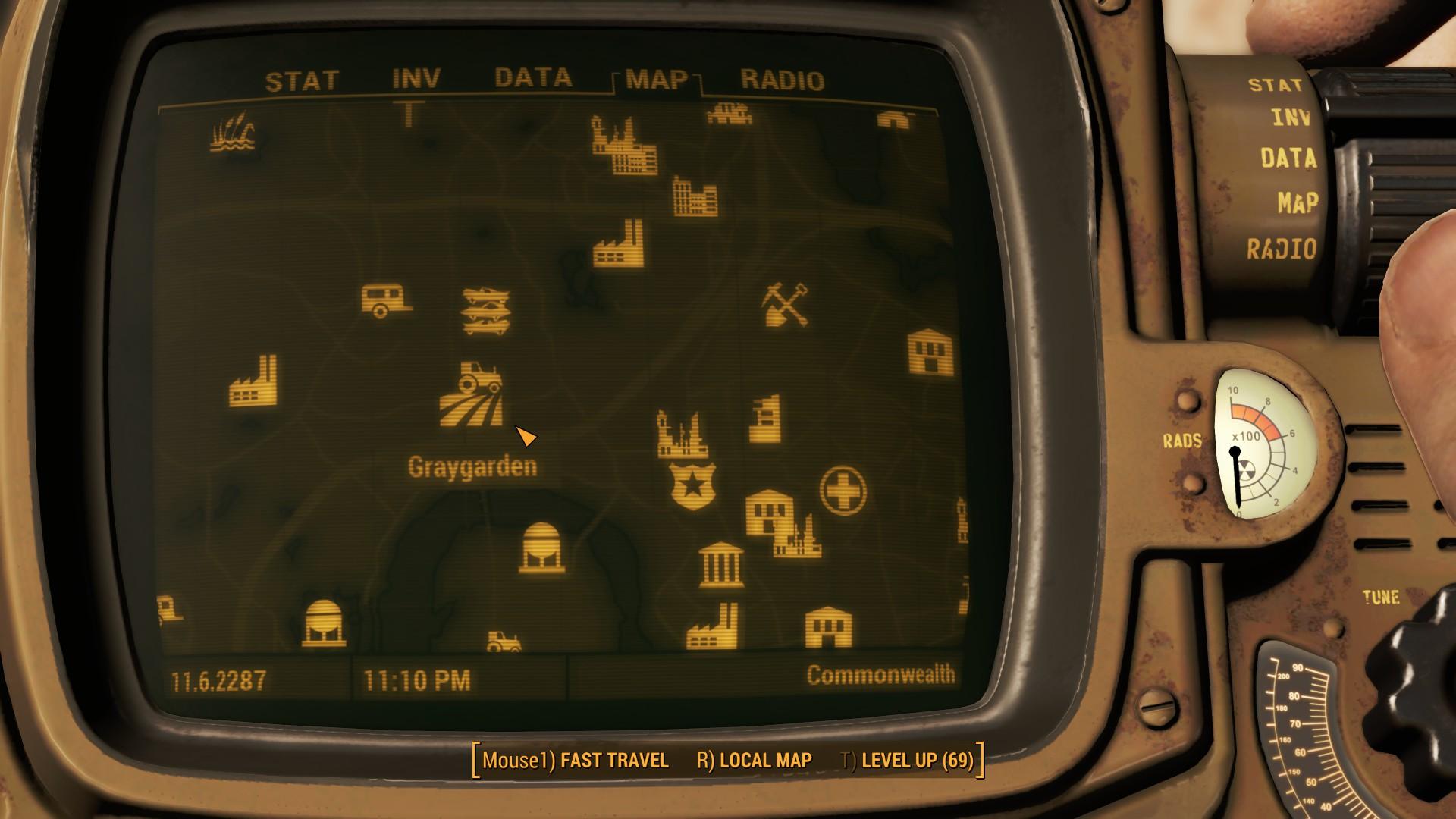 Fallout 4 Graygarden Map Location