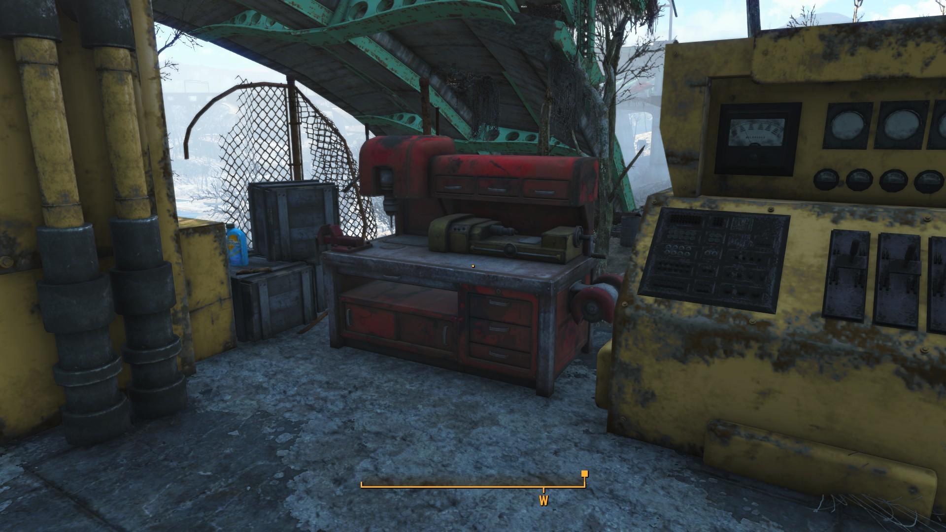 Fallout 4 Graygarden Workbench