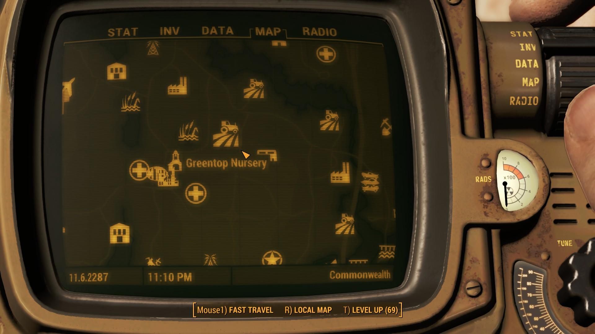 Fallout 4 Greentop Nursery Map Location