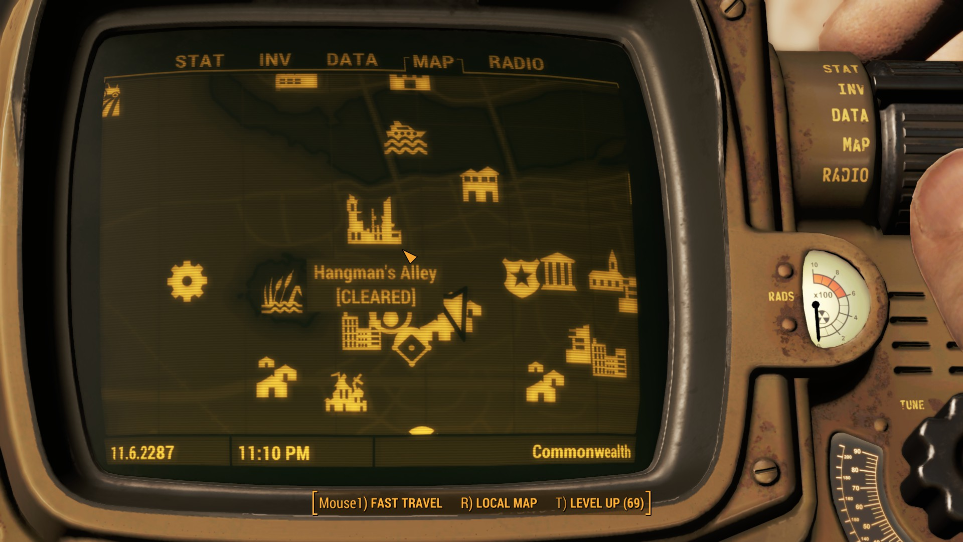 Fallout 4 Hangman's Alley Map Locations