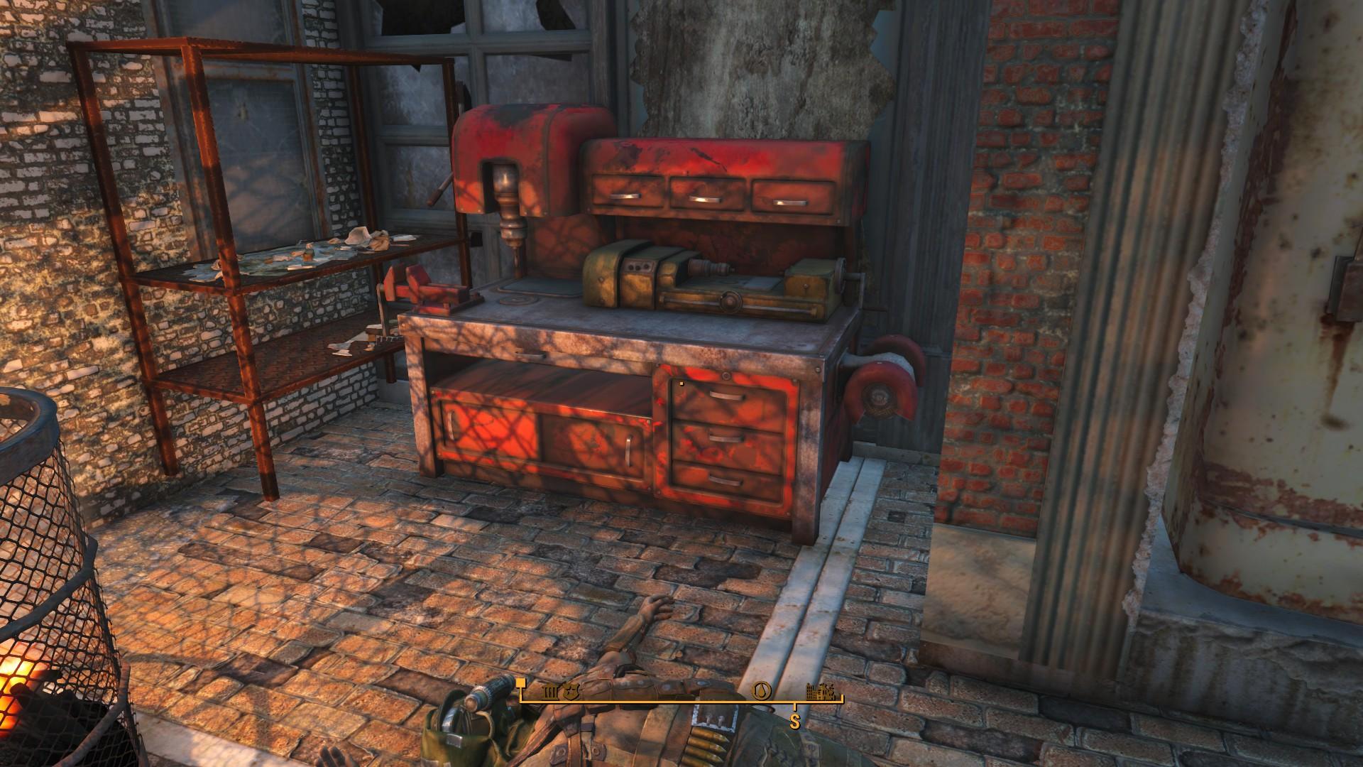 Fallout 4 Hangman's Alley Workbench