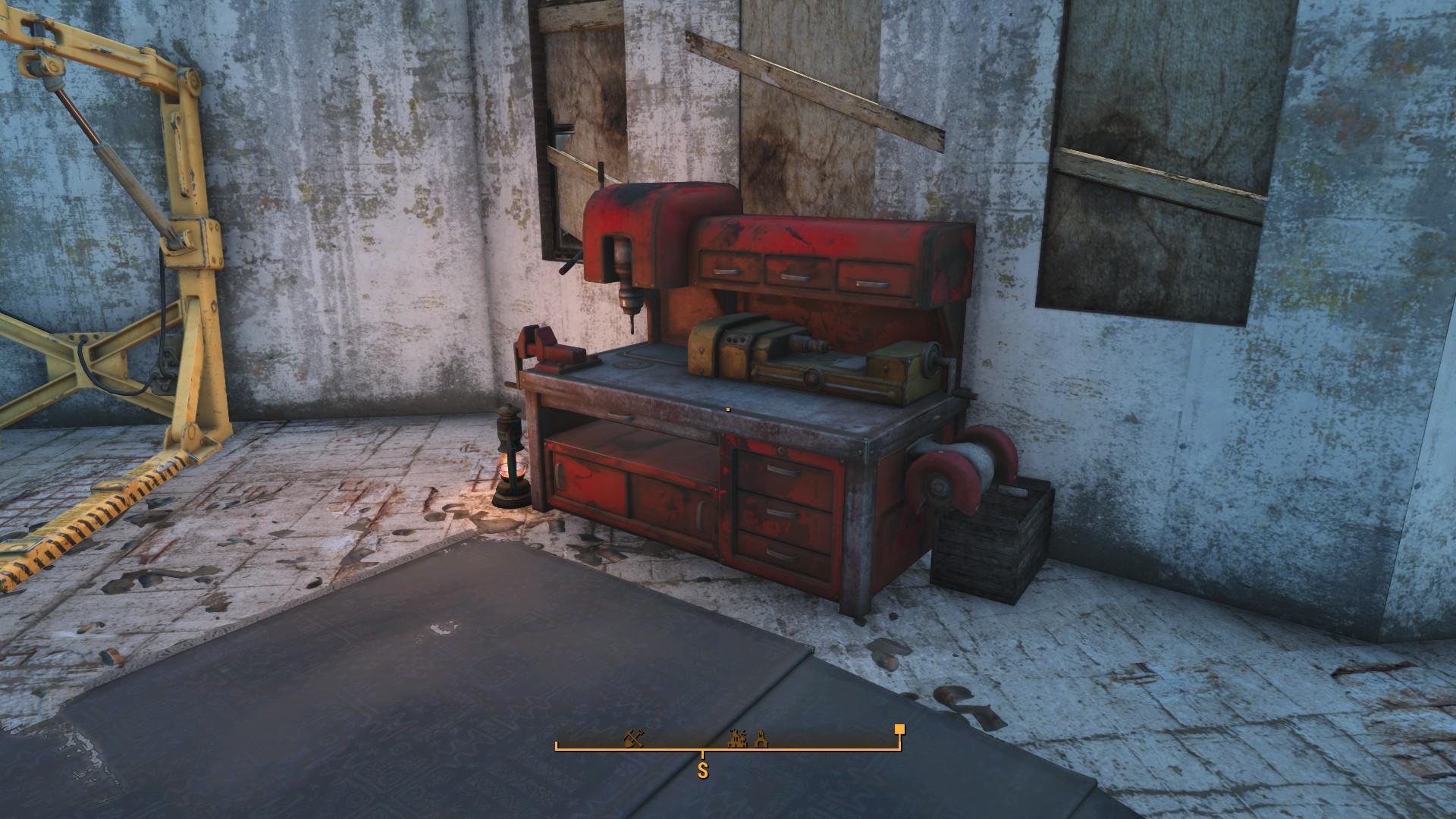 Fallout 4 Jamaica Plain Workbench