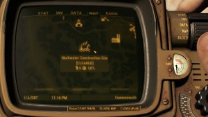 Fallout 4 Murkwater Construction Site Location Map