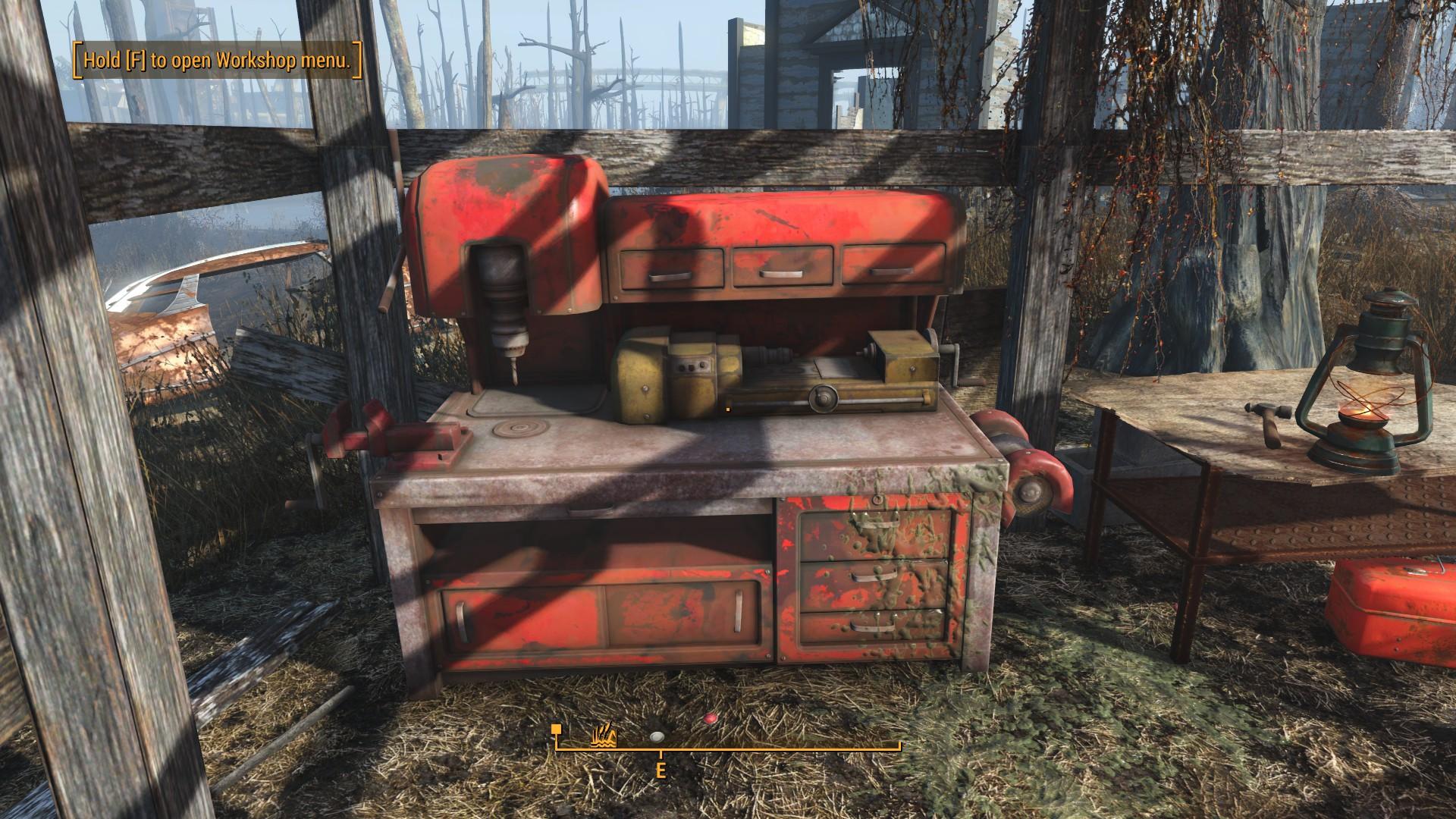 Fallout 4 Murkwater Construction Site Workbench