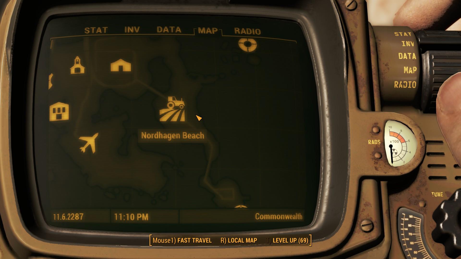 Fallout 4 Nordhagen Beach Location Map