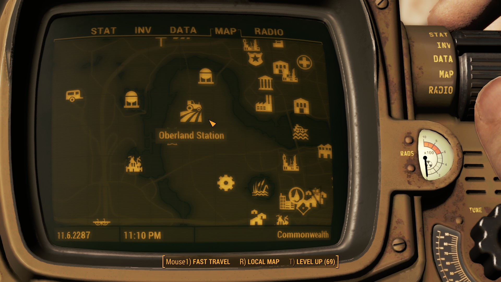 Fallout 4 Oberland Station Map Location
