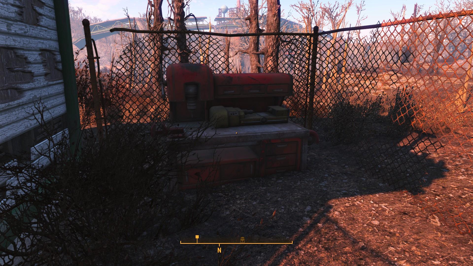 Fallout 4 Oberland Station Workbench