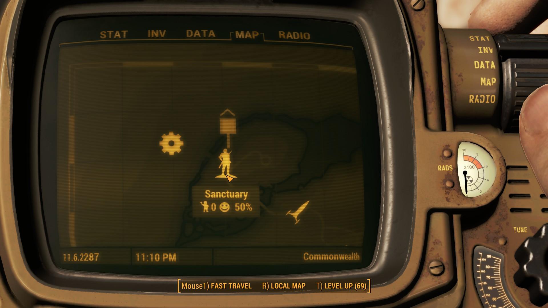 Fallout 4 Sanctuary Hills Map Location
