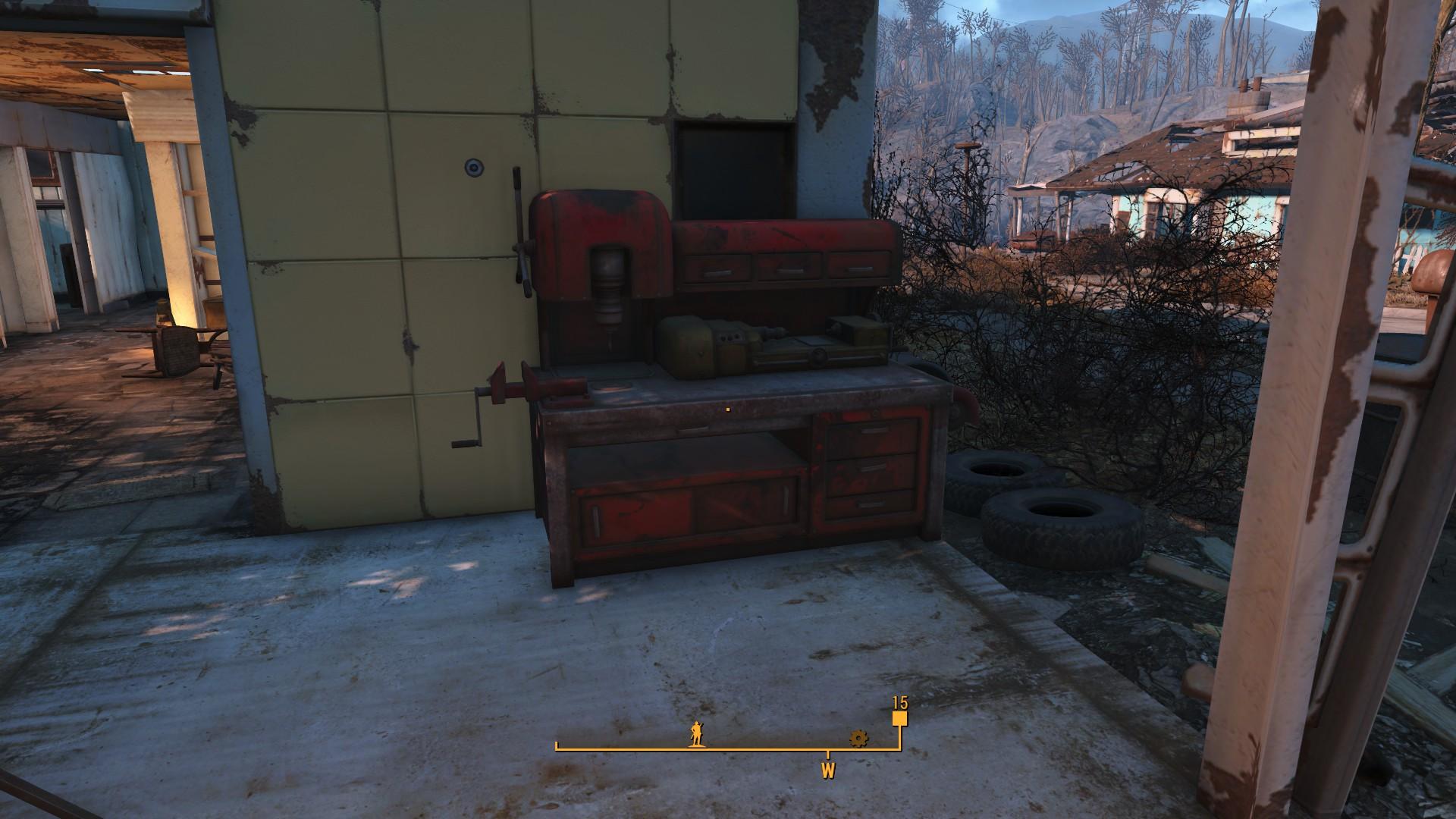 Fallout 4 Sanctuary Hills Workbench