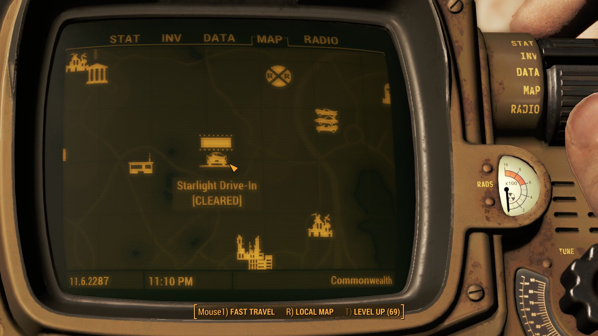 Fallout 4 Starlight Drive In Map Location
