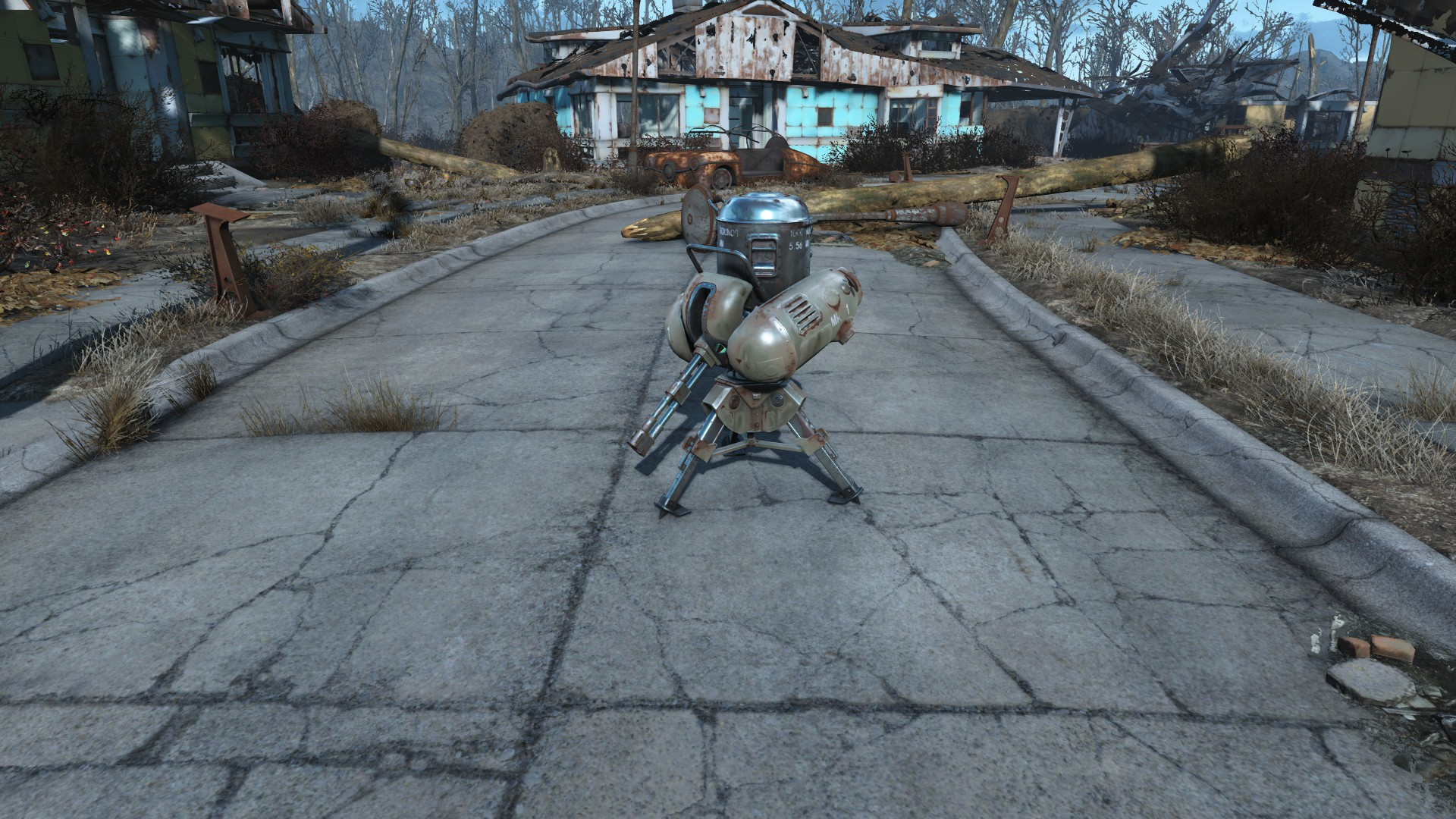 Fallout 4 TURRET PLACED
