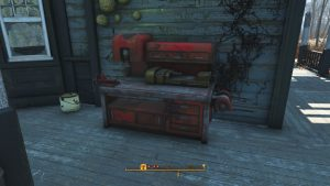 Fallout 4 Taffington Boathouse Workbench