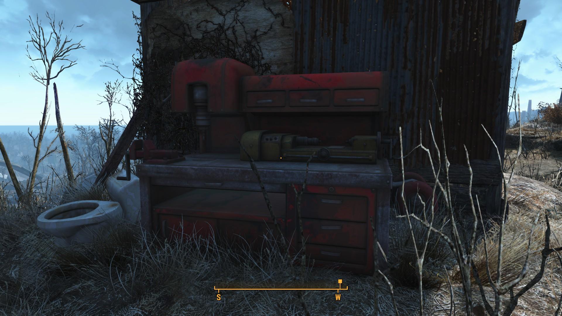 Fallout 4 Ten Pines Bluff Workbench