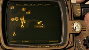Fallout 4 The Castle Location Map