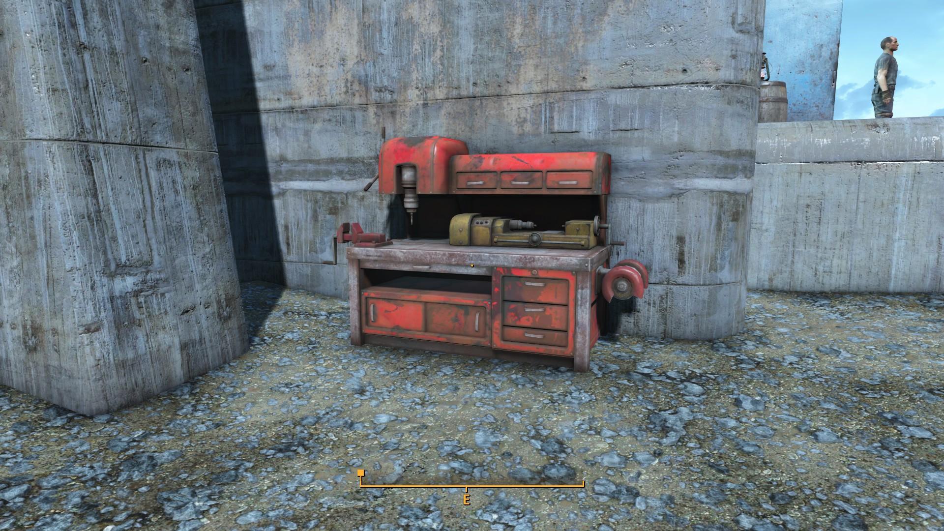 Fallout 4 Warwick Homestead Workbench