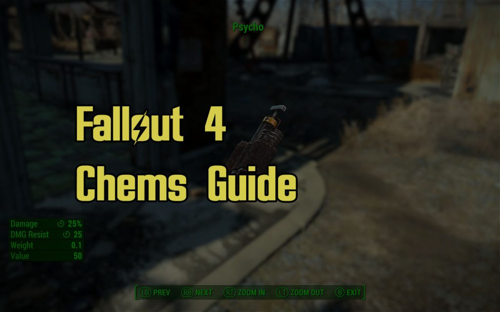 Fallout 4 Chems Guide