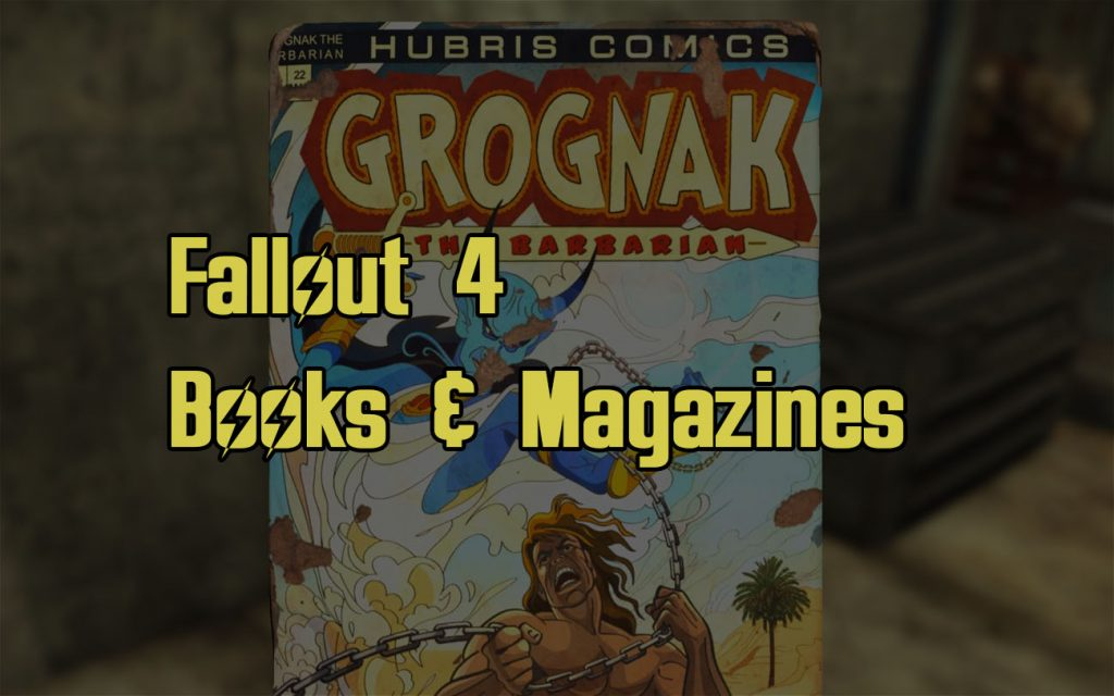 Fallout 4 Books Magazines Guide