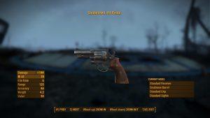 Fallout 4 Snubnosed .44 Pistol