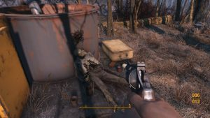 Fallout 4 Snubnosed .44 Pistol Equiped