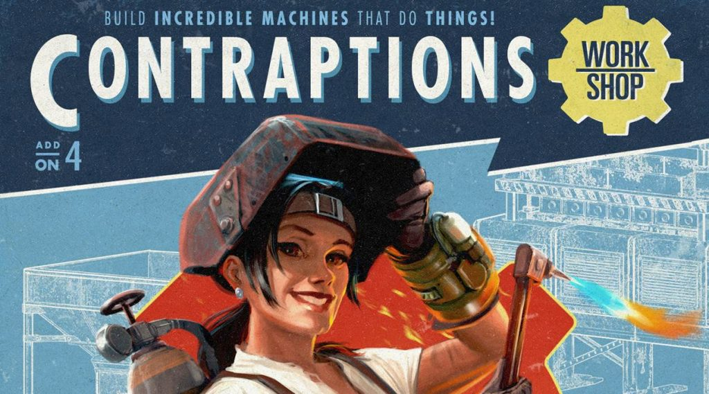 Contraptions Fallout 4 Header