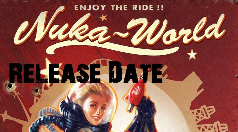 Nuka World Release Date Header