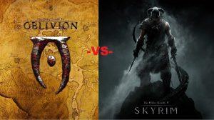 Oblivion vs Skyrim Header Image