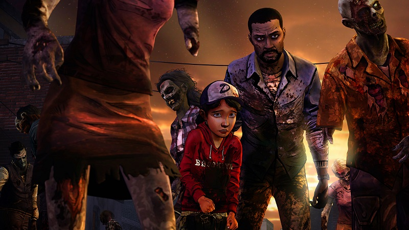 The Walking Dead Collection Season 1 Lee and Clementine