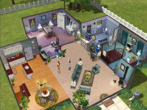 sims 3 house screenshot