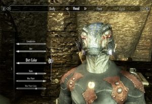 change your appearance in skyrim