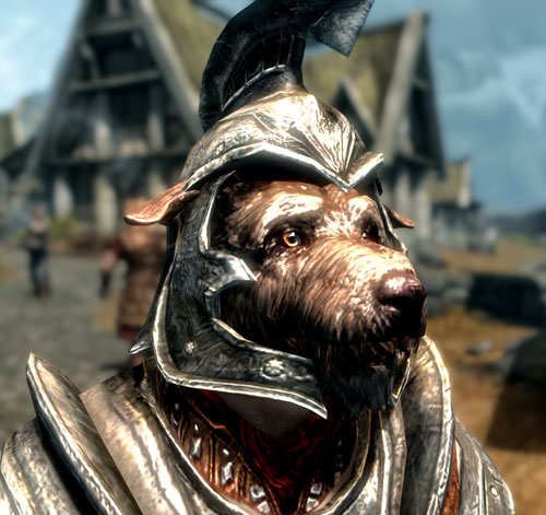 Dog As Skyrim Companion Featured Picture