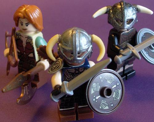 Skyrim LEGOs