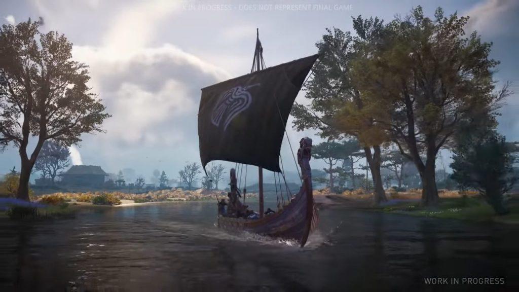 Assassin's Creed Valhalla Gameplay July Longship Travel