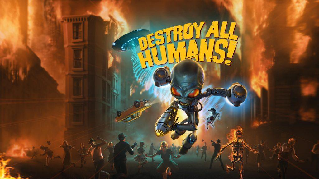 Destroy All Humans! Game Header