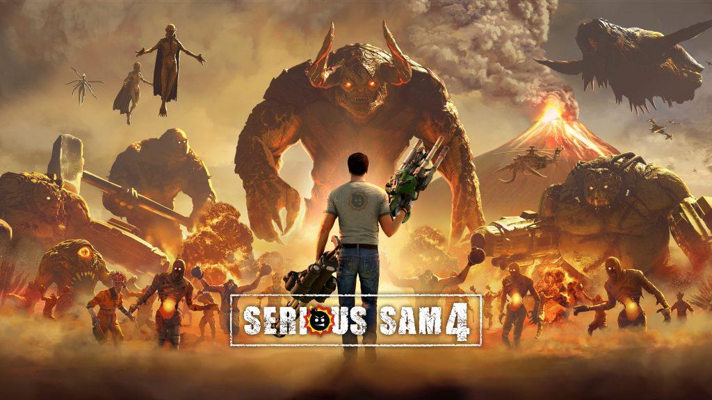 Serious Sam 4 Header Banner