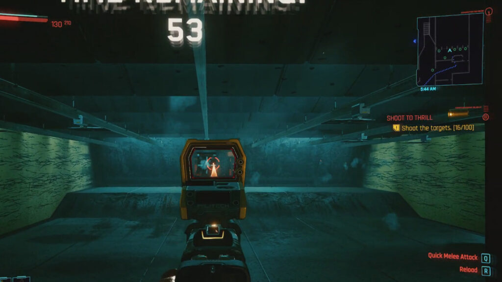 Cyberpunk 2077 Map Markers Guide Shoot To Thrill Shooting Range