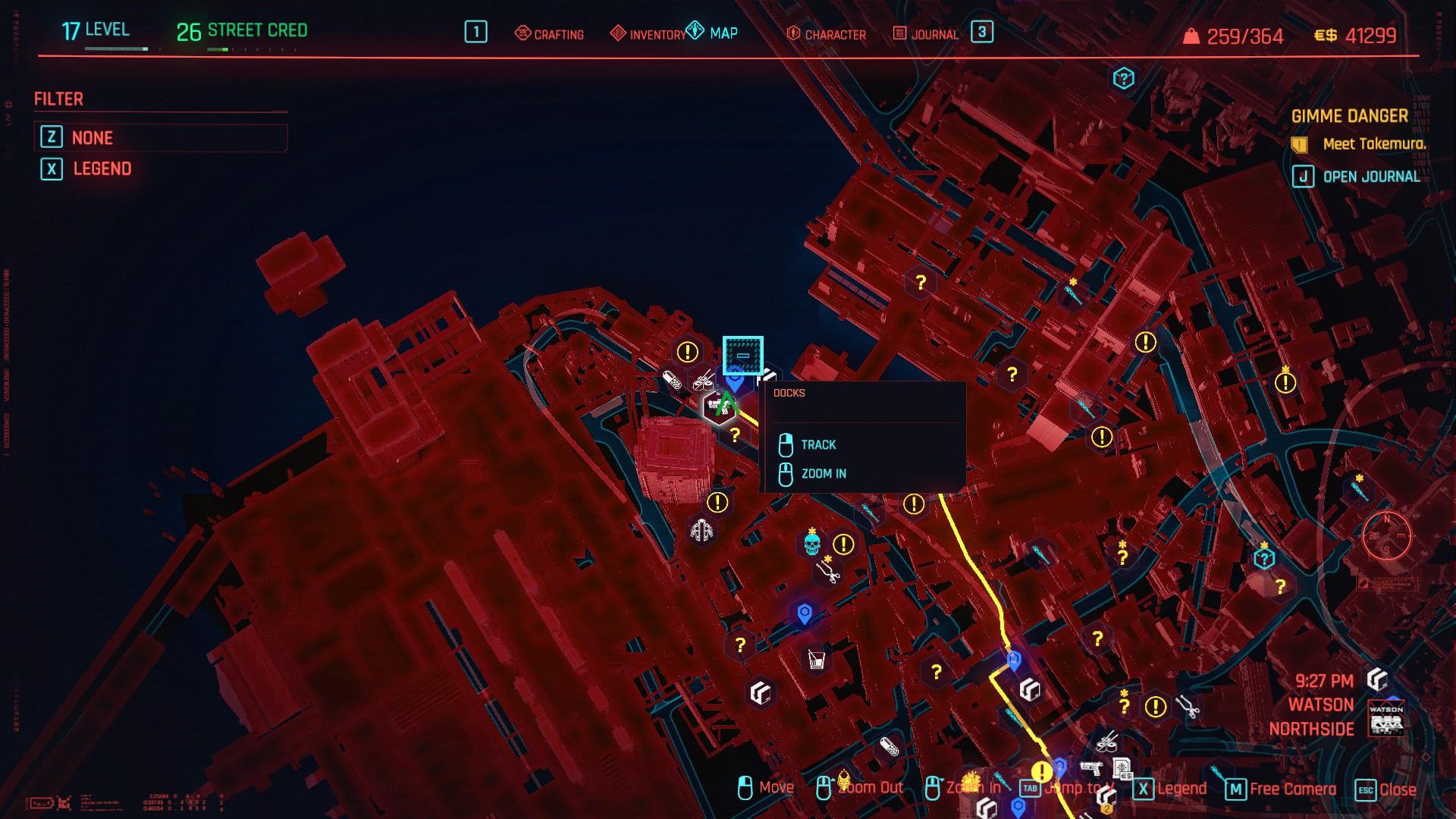 The Docks Fast Travel Cyberpunk 2077 Watson