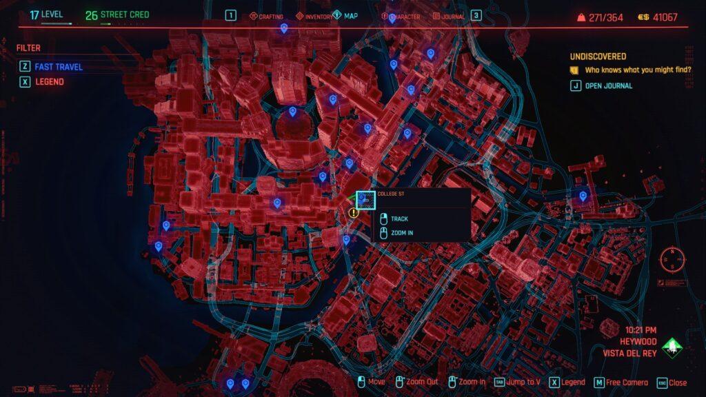 Cyberpunk 2077 How to find Skippy 1