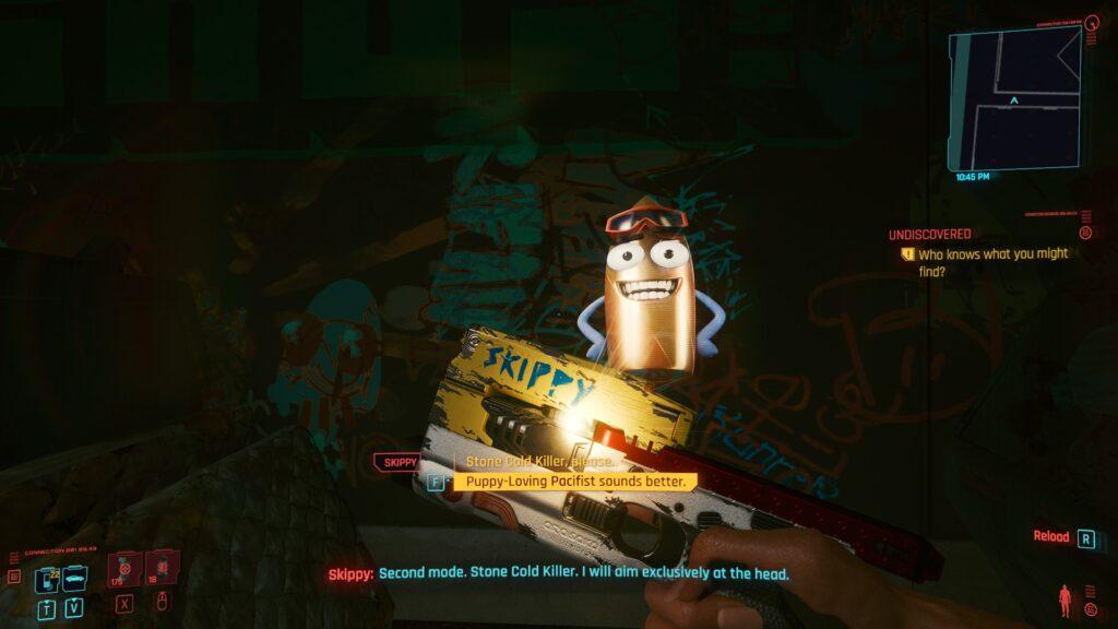 Cyberpunk 2077 How to find Skippy 5