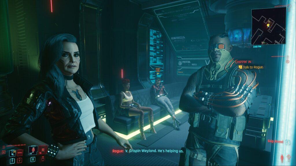 Cyberpunk 2077 How to Find Johnny's Gun 2