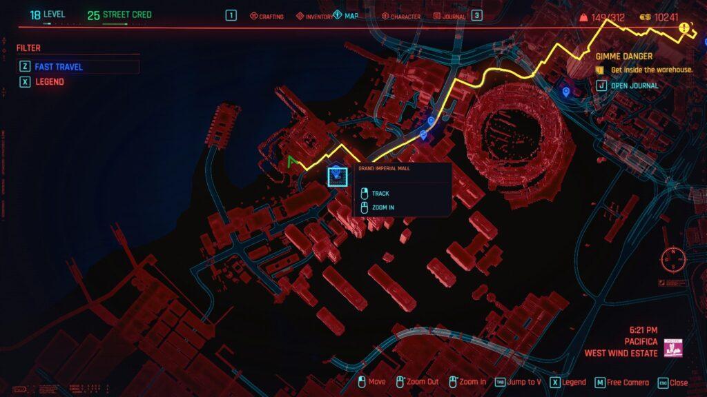 Cyberpunk 2077 Where To Find Cat food in Pacifica 1