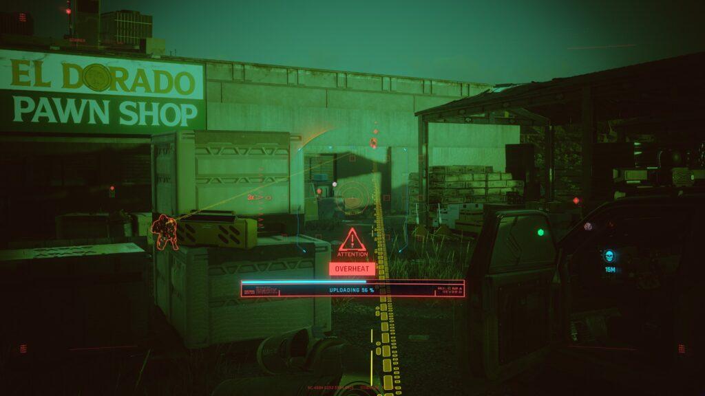 Cyberpunk 2077 Netrunner Overheat 2