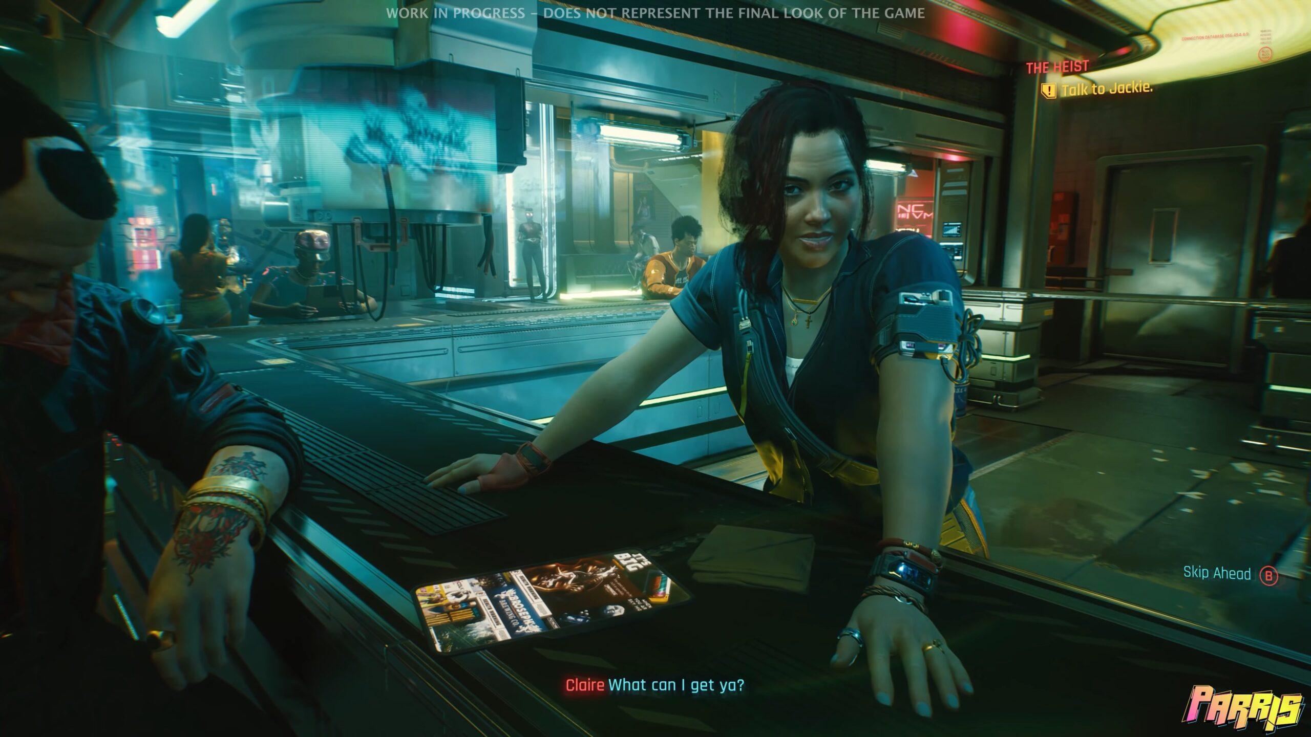 Cyberpunk 2077 JALI lip sync